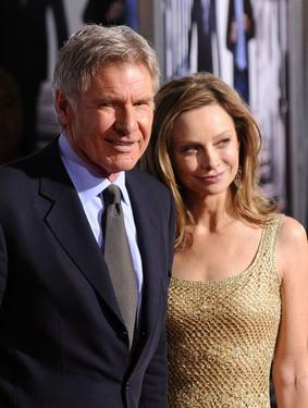 Harrison Ford and Calista Flockhart at the California premiere of &quot;Extraordinary Measures.&quot;